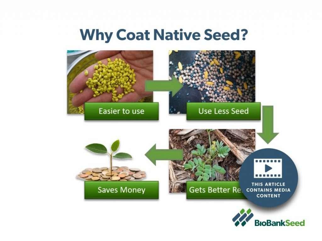 Benefits of Seed Coating Native Seed
